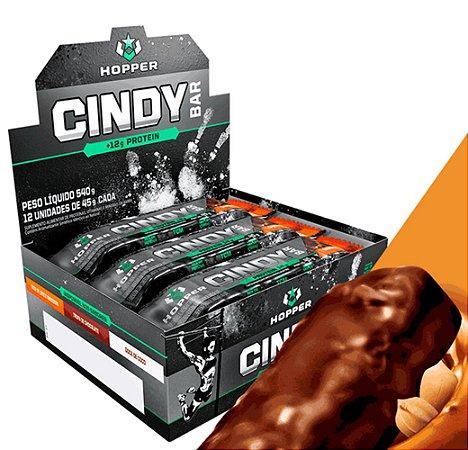 CINDY BAR, Hopper Nutrition, Barra de Proteína, cx com 12