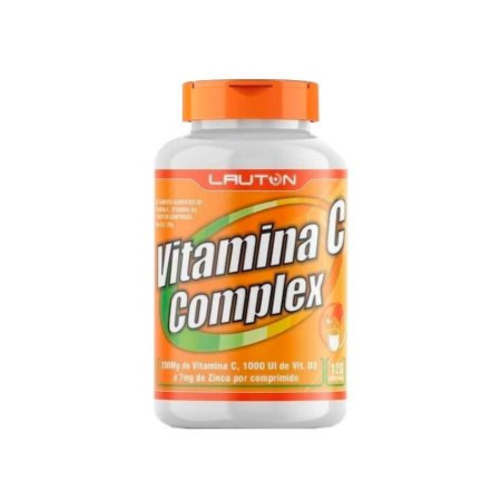 Vitamina C COMPLEX, 120 caps - Lauton