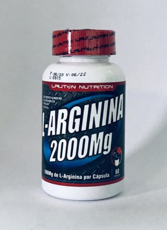 L-Arginina 2000mg - Lauton Nutrition