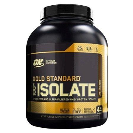 GOLD STANDARD ISOLATE 100% ISOLADO, ON, Optimum Nutrition, 1,36kg