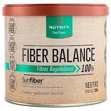 FIBER BALANCE, fibras reguladoras, Nutrify, 200g