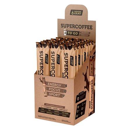 Sachê SUPERCOFFEE 2.0, Caffeine Army, Sabor tradicional, 10g