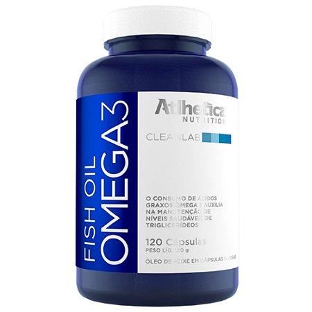 FISH OIL ÔMEGA 3, Atlhetica Nutrition, 120 cápsulas