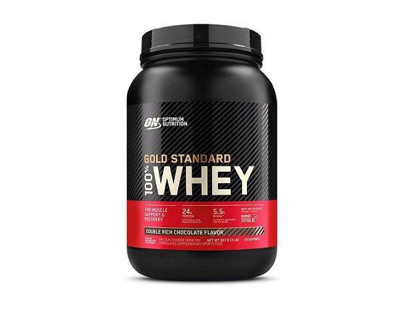 GOLD STANDARD 100% WHEY, ON, Optimum Nutrition, 907g (NOVO)
