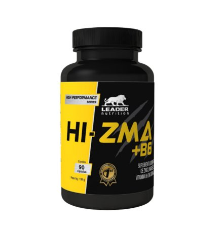 HI-ZMA + B6 - 90 Caps. - LEADER NUTRITION