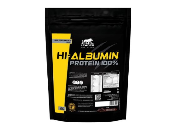 HI-ALBUMIN -ALBUMINA- 500g - LEADER NUTRITION