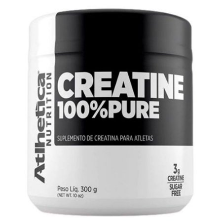 CREATINE 100% Pure, Atlhetica Nutrition, Creatina, 300g