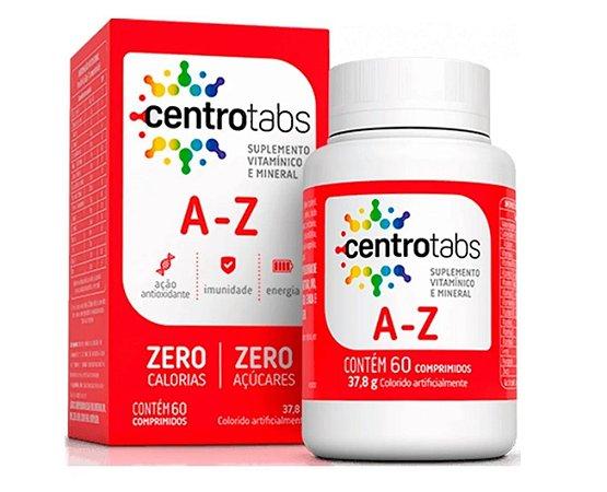 CENTROTABS A a Z, Suplemento Vitamínico e Mineral, 60 Caps.