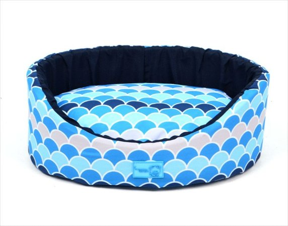 Cama Oval Atlanta Azul P