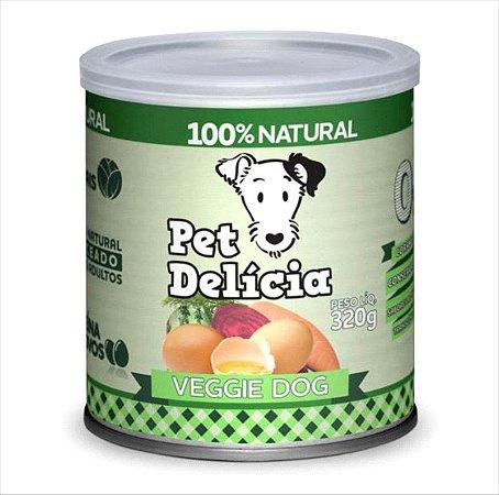 Lata Pet Delicia Cão Adulto Veggie 320g