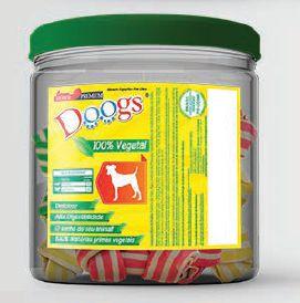 """Osso Doogs Nó Colorido 3/4"""" 500g"""