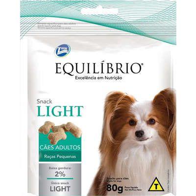 Snack Equilibrio Light Cao Adulto Raça Pequena 80g