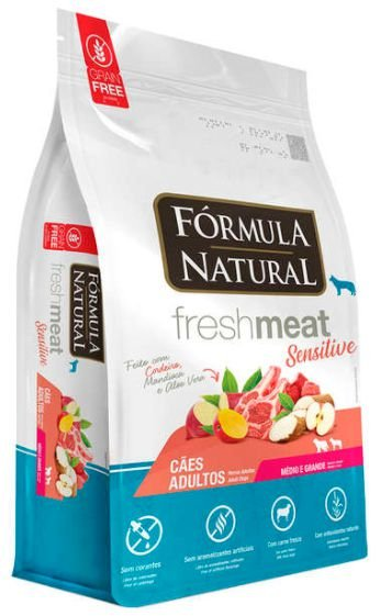 Ração Formula Natural Fresh Meat Cao Ad Sensitive Mini/Rp 7kg