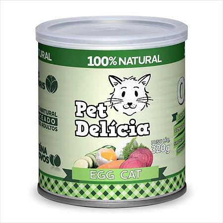 Lata Pet Delicia Gato Adulto Egg 320g