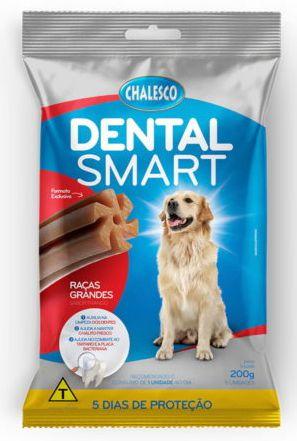 Snack Dental Smart Chalesco Rg 200g 5un