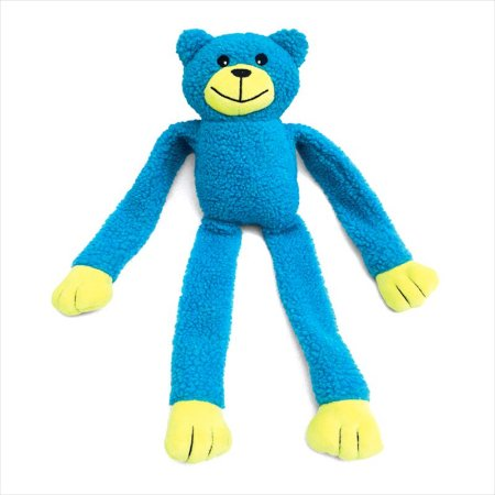 Brinquedo Chalesco Urso Azul Pelúcia