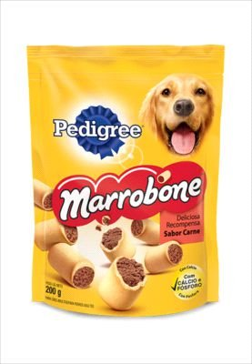 Biscoito Pedigree Cão Adulto Marrobone 200g
