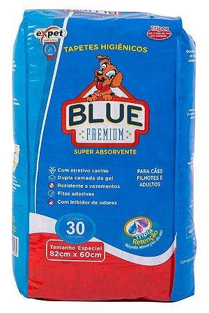 Tapete Higiênico Expet Bluex Premium Com 30 Unidades