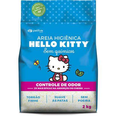 Areia Hello Kitty Azul 2kg
