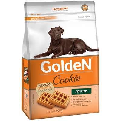 Cookie Golden Cão Adulto Pequeno Porte 400g