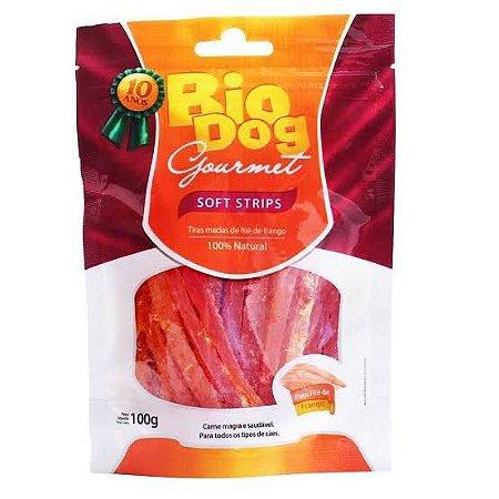 Snack Bio Dog Gourmet Soft Strips 100g