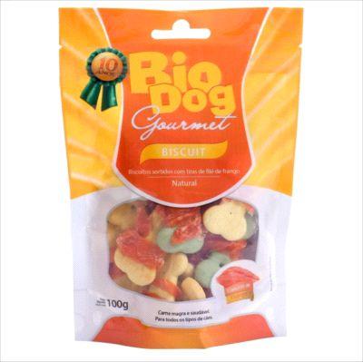 Snack Bio Dog Gourmet Biscuit 100g