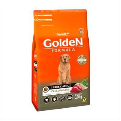 Ração Golden Fórmula Cão Adulto Carne E Arroz 15kg