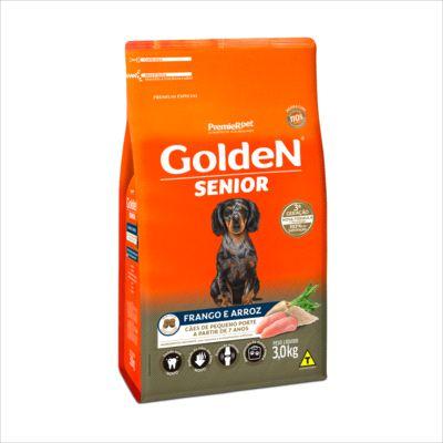 Ração Golden Sênior Cão Pequeno Porte Frango E Arroz 3kg