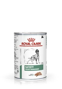 Lata Royal Canin Veterinary Diet Cão Satiety 410g