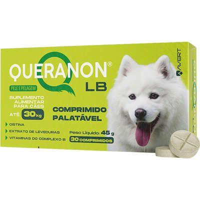 Suplemento Queranon LB Cão Até 30kg - 30 Comprimidos