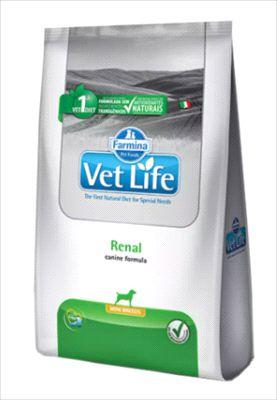 Ração Vet Life Cão Renal Mini Breeds 2kg