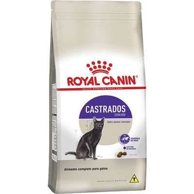 Ração Royal Canin Gato Adulto Castrado (Sterilised) 7,5kg