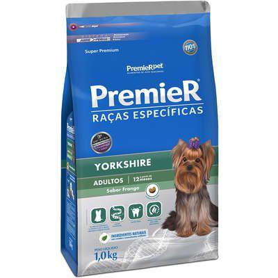 Ração Premier Raças Especificas Yorkshire Adulto 1kg