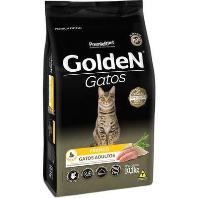 Ração Golden Gato Adulto Frango 10,1kg