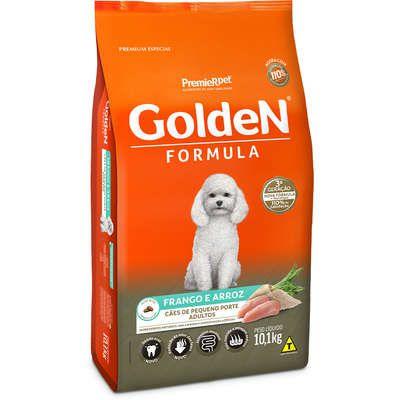Ração Golden Fórmula Cão Adulto Pequeno Porte Frango E Arroz 10,1kg