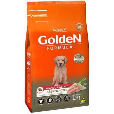 Ração Golden Fórmula Cão Filhote Frango E Arroz 1kg