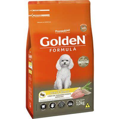 Ração Golden Fórmula Cão Adulto Pequeno Porte Peru E Arroz 1kg