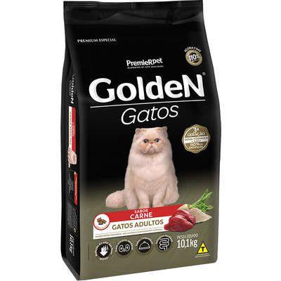 Ração Golden Gato Adulto Carne 10,1kg