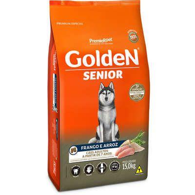 Ração Golden Sênior Cão Frango E Arroz 15kg