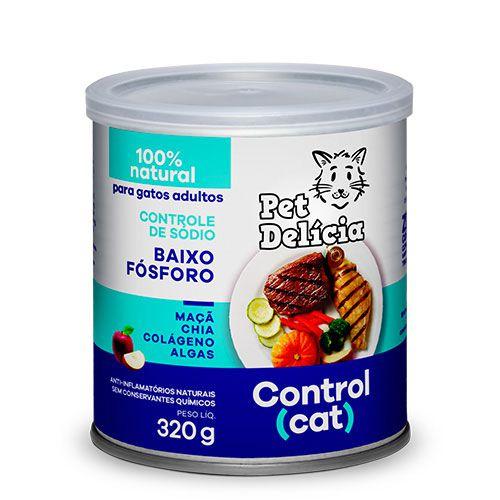 Lata Pet Delicia Gato Adulto Control Cat 320g