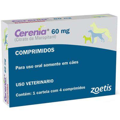 Antiemético Cerenia 60mg Caixa Com 4 Comprimidos