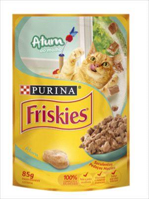 Sache Friskies Gato Adulto Atum Ao Molho 85g
