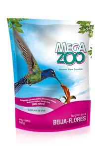 Ração Mega Zoo Nectar Para Beija-Flor 500g