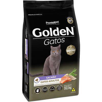 Ração Golden Gato Adulto Salmão 10,1kg