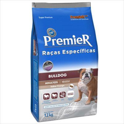 Ração Premier Raças Especificas Bulldog Adulto 12kg