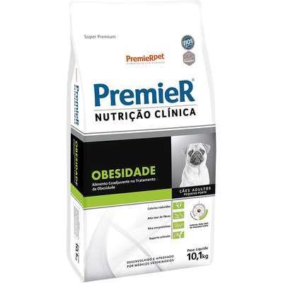 Ração Premier Nutrição Clínica Cão Raça Pequena Obesidade 10,1kg