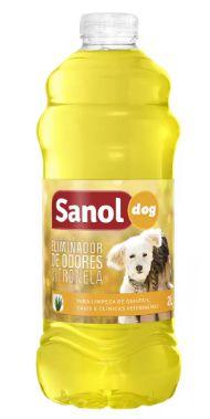 Eliminador De Odores Sanol Dog Citronela 2l