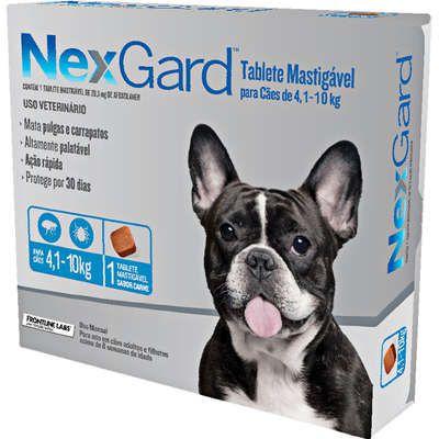 Antipulga NexGard 4,1 A 10kg Caixa Com 1 Tablete