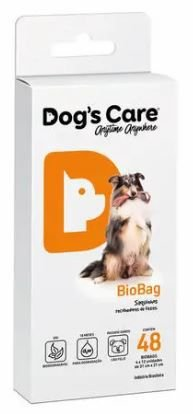 BIOBAG DOG'S CARE COM 48 SAQUINHOS