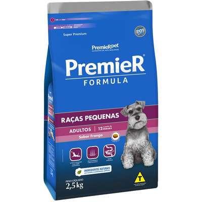 Ração Premier Formula Cao Adulto Raça Pequena Frango 2,5kg